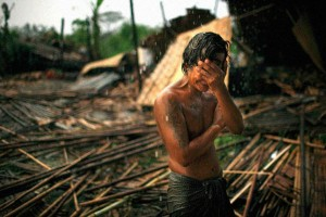 In May 2008, cyclone Nargis struck southern Myanmar, leaving millions homeless and claiming more than 100,000 lives