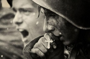 Russian soldiers preparing for the Battle of Kursk in 1943.