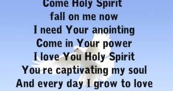come.holy.spirit
